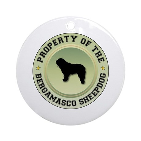 Bergamasco Property Ornament (Round)