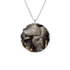 Buffalo comes out of bushes  Necklace