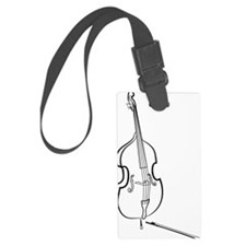 Double-Bass-09-a Luggage Tag