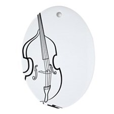 Double-Bass-09-a Oval Ornament