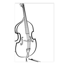 Double-Bass-09-a Postcards (Package of 8)