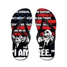 United States of Conformity Flip Flops
