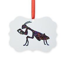 Praying Mantis Silhouette Ornament