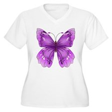 Awareness Butterfly Plus Size T-Shirt
