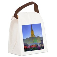 This is a picture of the Jordan R Canvas Lunch Bag