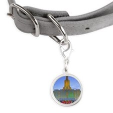 This is a picture of the Jorda Small Round Pet Tag