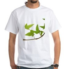 Ivy leaves on white background Shirt