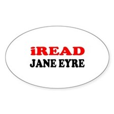 Jane Eyre Oval Decal
