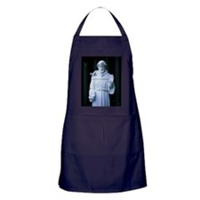 St. Francis of Assisi statue, Mission Apron (dark)