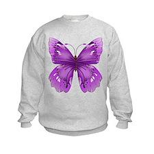 Awareness Butterfly Sweatshirt