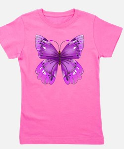 Awareness Butterfly Girl's Tee