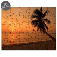 Romantic sunset in Pagudpud Puzzle