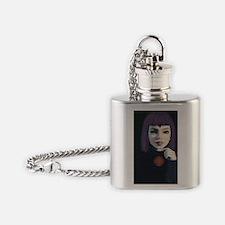 Unique Teen titans Flask Necklace