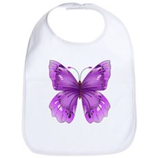 Awareness Butterfly Bib