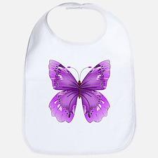 Awareness Butterfly Bib