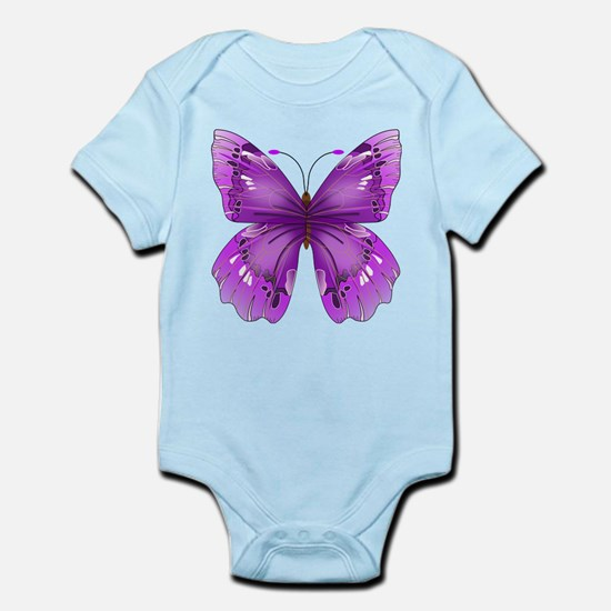 Awareness Butterfly Body Suit