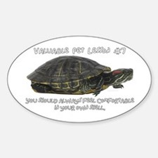 Valuable Pet Lesson #7 Oval Decal