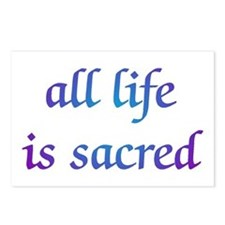 All Life is Sacred Postcards (Package of 8)