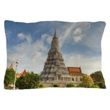 The Royal Palace of Phnom Penh is a go Pillow Case