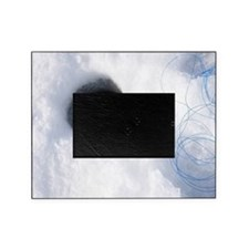 Ice fishing Picture Frame