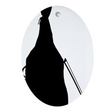 Double-Bass-26-a Oval Ornament