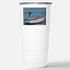 Fishing Naked Stainless Steel Travel Mug