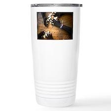 Domino hands Travel Mug