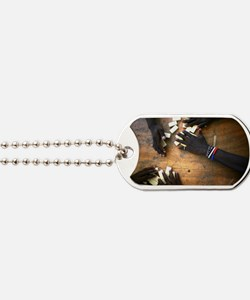 Domino hands Dog Tags