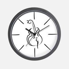 Double-Bass-13-a Wall Clock
