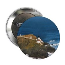 "Aerial view of Point Bonita, San Fran 2.25"" Button"