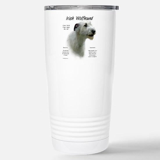 Irish Wolfhound ( Travel Mug