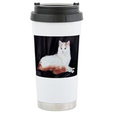 Turkish van cat Travel Mug