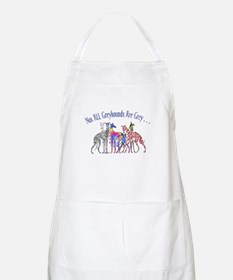 Greyhounds Not Grey BBQ Apron