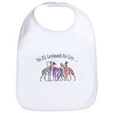 Greyhounds Not Grey Bib