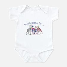 Greyhounds Not Grey Infant Bodysuit