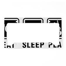 Eat-Sleep-Play-03-a License Plate Holder