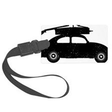 Double-Bass-On-Car-01-a Luggage Tag