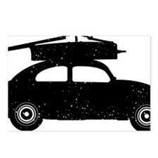 Double-Bass-On-Car-01-a Postcards (Package of 8)
