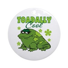 Toadally Cool Ornament (Round)