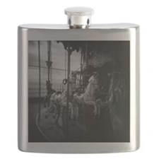 Horse carousel ride Flask