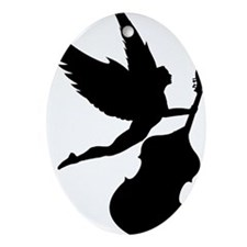 Double-Bass-Angel-01-a Oval Ornament