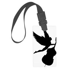 Double-Bass-Angel-01-a Luggage Tag