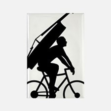 Double-Bass-On-Bicycle-01-a Rectangle Magnet