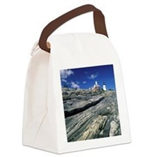 Pemaquid Point Lighthouse, Pemaqu Canvas Lunch Bag