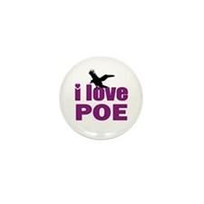 I Love Poe Mini Button (10 pack)