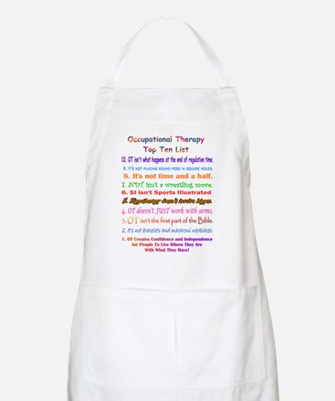 What is OT Top 10 BBQ Apron