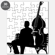 Double-Bass-On-Park-Bench-01-a Puzzle