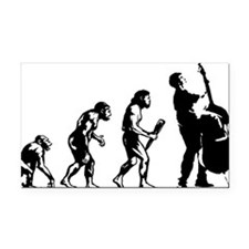 Evolution-Man-05-a Rectangle Car Magnet