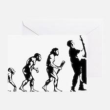 Evolution-Man-05-a Greeting Card
