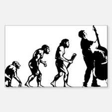 Evolution-Man-05-a Sticker (Rectangle)